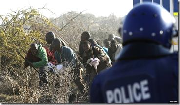 Lonmin Marikana violence