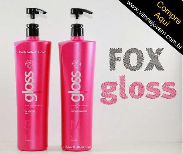 progressiva fox gloss, vitrine jovem, compra progressiva