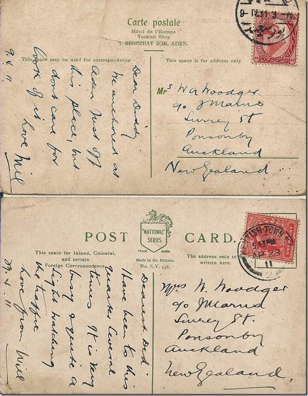 postcards-backs