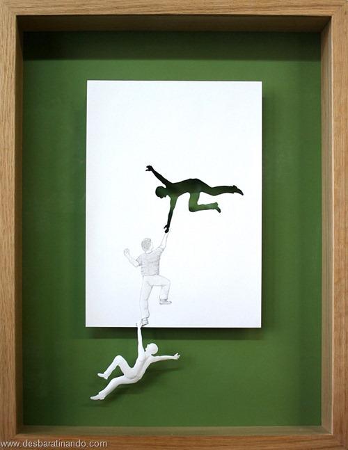 obras de arte em papel 3D origami Peter Callesen desbaratinando (34)