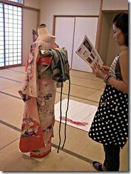 振袖の他装着付け練習 (1)