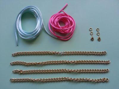 Pulseras con cadenas