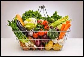 mangia molta verdura e frutta