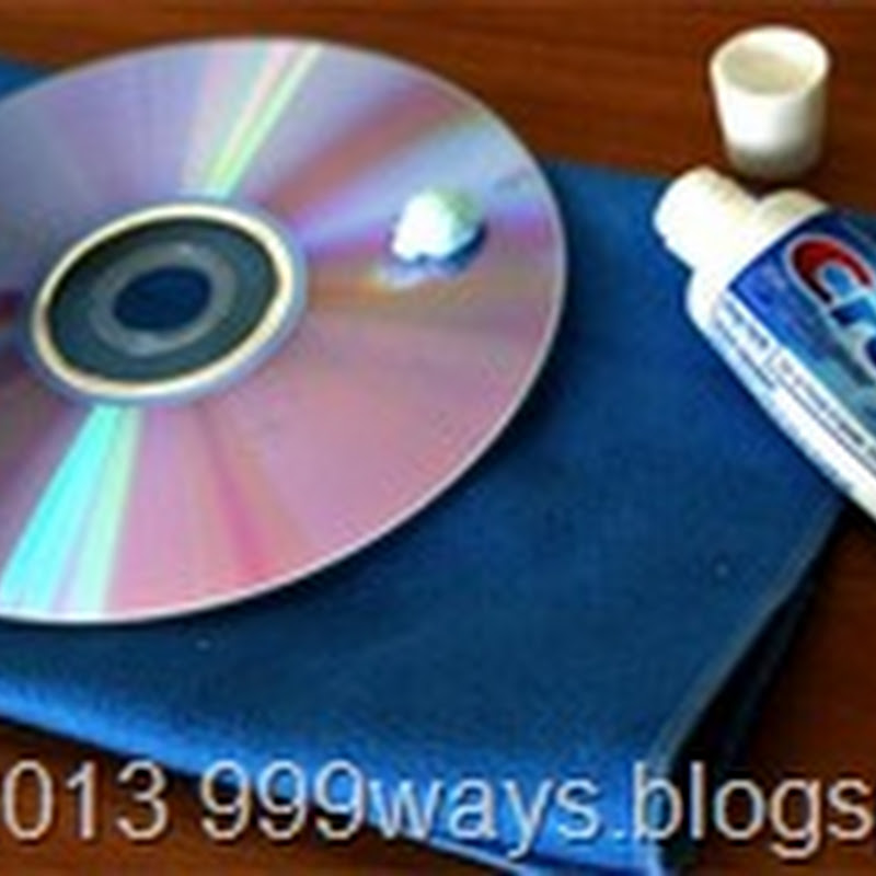 Tips to recover scratched CD's