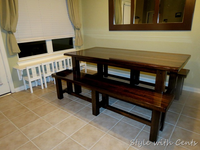 Style with cents refinishing a kitchen table - Refinishing a kitchen table ...