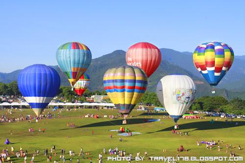 【2012臺灣熱氣球嘉年華】在台東鹿野高台等您一起來瘋熱氣球
