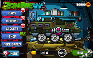 Zombie Road Trip Unlimited Coins/Money Game Cheat