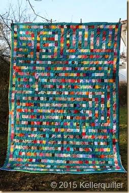 Quilt177-Gartenlabyrinth