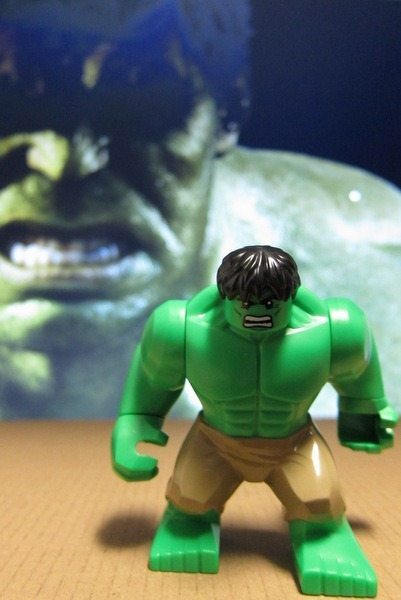 Hulk Avengers Minifig Lego