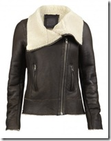 All Saints Sheepskin Jacket