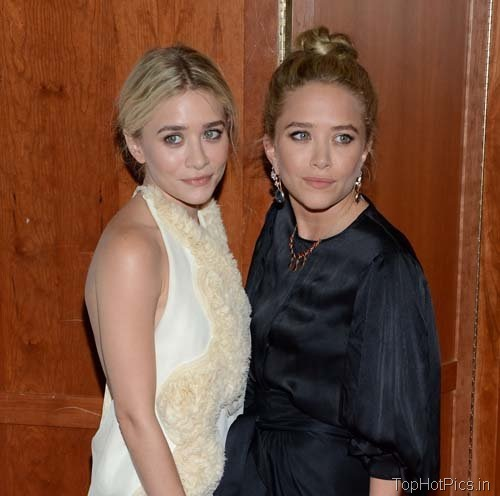 Hot Olsen Sisters in Backless Dress Pics 7