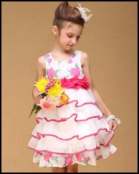 Gaun Pesta Anak Perempuan 2014