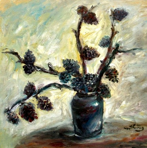 tranh son dau cua hoa si nhuan thuong 6