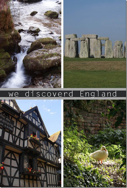 We discovered England