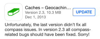 Caches version 2.3