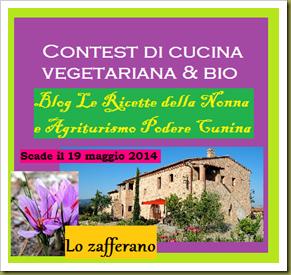 Contest Le Ricette della Nonna & Podere Cunina 2014