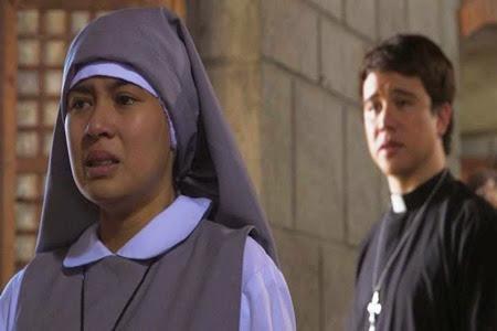 Yen Santos and Arjo Atayde in a nun-priest love story in MMK