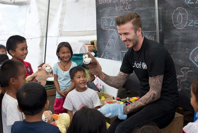 David Beckham Typhoon Haiyan Unicef (6)