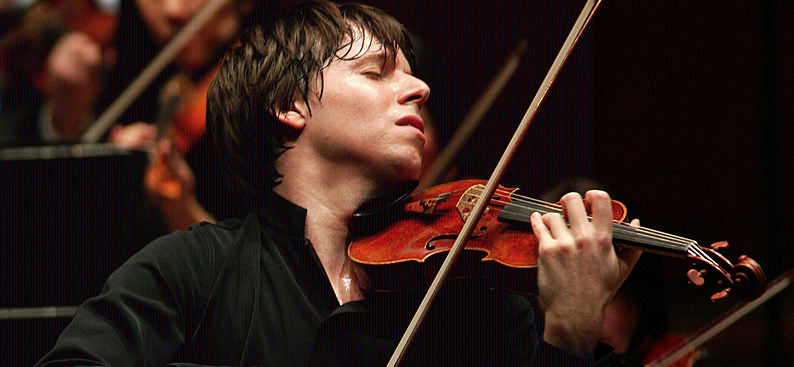 Joshua Bell performing live