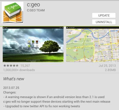 c:geo version 2013.07.25