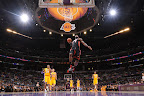 lebron james nba 130117 mia at lal 06 Boston Outlasts Miami in 2nd OT. LeBron Debuts Suede X PE!