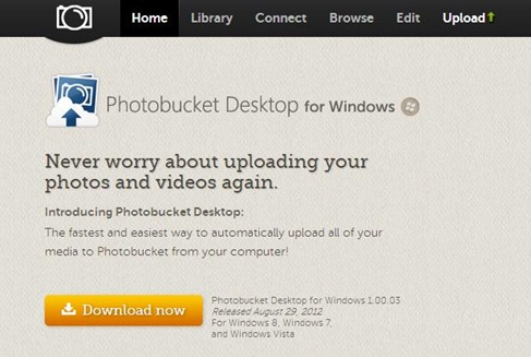 Photobucket Desktop for Windows