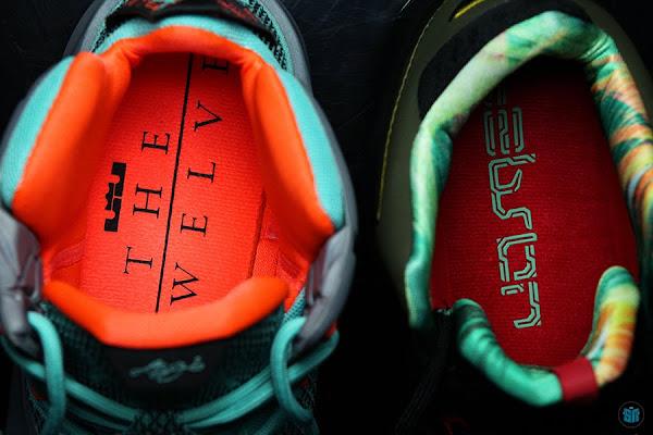 Nike LeBron 11 8220King8217s Pride8221 vs Nike LeBron 12 8220NSRL8221