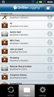 Screenshot of OnSite Logging HD