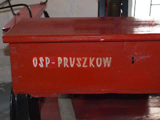 nasi tu byli ! Powoz strazacki z OSP w Pruszkowie :)