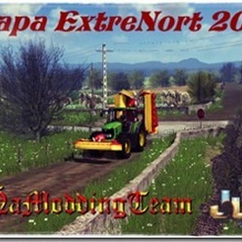 Farming simulator 2011 - ExtreNort 2012 Map