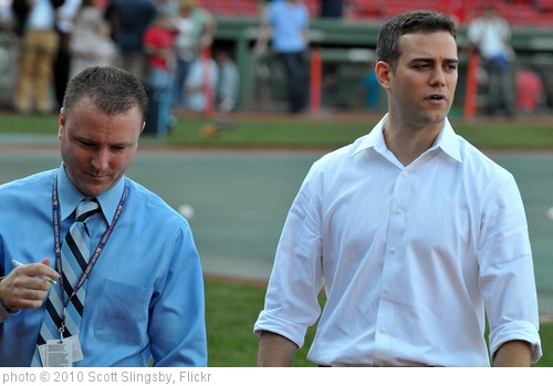 'Theo Epstein, Boston Red Sox' photo (c) 2010, Scott Slingsby - license: http://creativecommons.org/licenses/by/2.0/