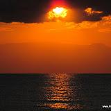 Mooie zonsopgang