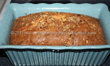 Cathy's Favorite Coffee Cake - just out of oven