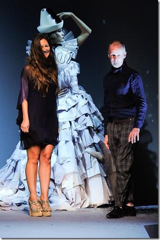 Susanna Venegas and Bill Gaytten