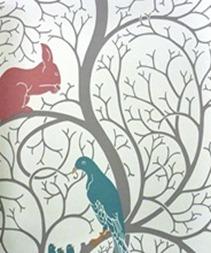 Fågeltapet, Sanderson, Vintage 1