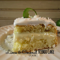 Lime & Coconut Icebox Cake / Call Me PMc