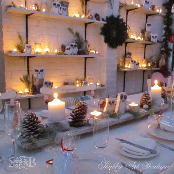 Shabby Art Boutique Woodland Christmas 6