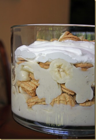 nutter butter banana pudding 1
