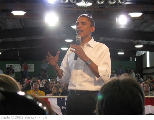 'Obama in Terre Haute' photo (c) 2008, BeckyF - license: http://creativecommons.org/licenses/by/2.0/