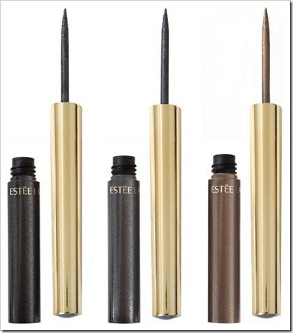 Estee-Lauder-Pure-Color-Liquid-Eyeliner-in-Graphite-Black-Quartz-and-Silver-Zinc.-fall-2011
