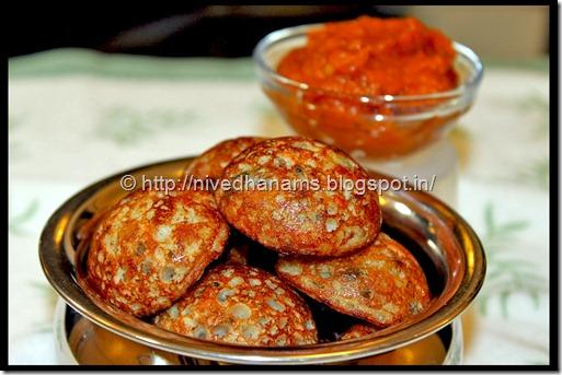 Jowar Paniyaaram - IMG_3337