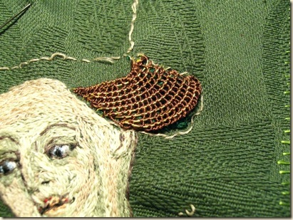 Hollie Stitch hair close up