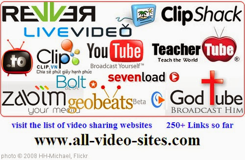 'All Video Sites - The List' photo (c) 2008, HH-Michael - license: https://creativecommons.org/licenses/by-nd/2.0/