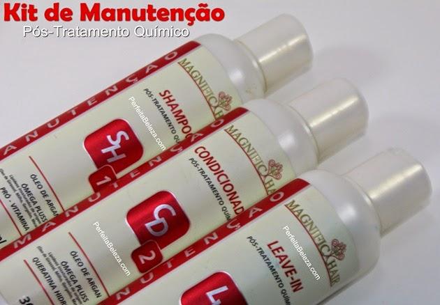 pós tratamento químico magnific hair