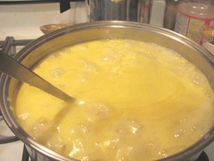 peach jam start of rolling boil