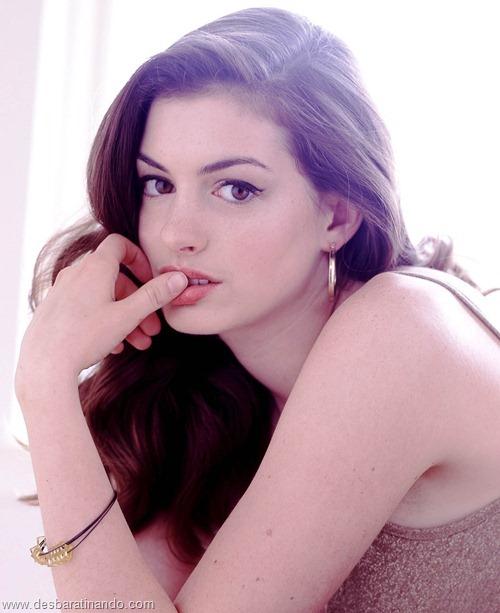 anne hathaway linda sensual sexy desbaratinando  (5)