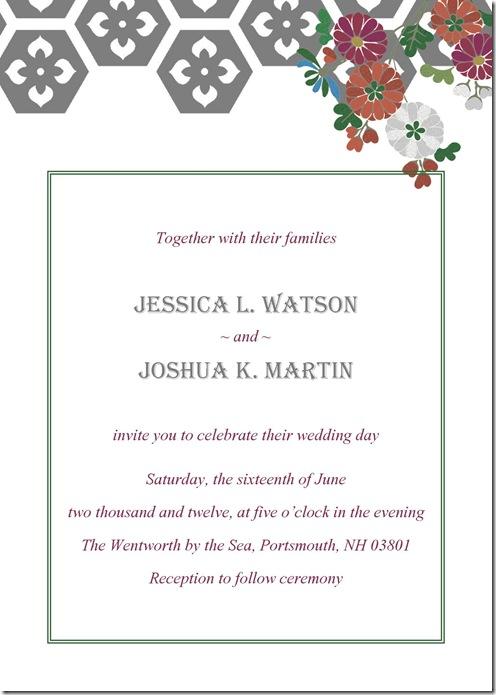 veronica invitation