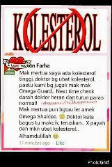kolestrol tinggi