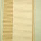 Elegancka tkanina w pasy. Błękitna, kremowa. Na zasłony, poduszki, dekoracje. Duża szerokość.