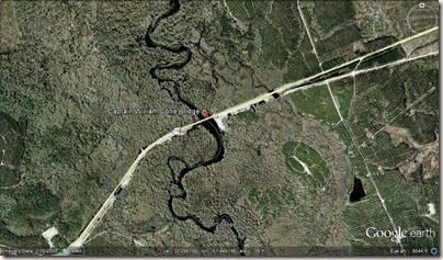 Wm Cone Bridge Google Earth close up